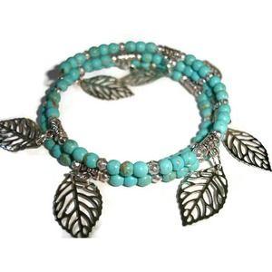 Turquoise cuff bracelet Gemstone